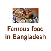Famous food in Bangladesh icon