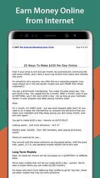 20 Ways To Make $100 Per Day Online screenshot 2