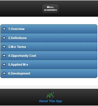 Basics of Microeconomics screenshot 4