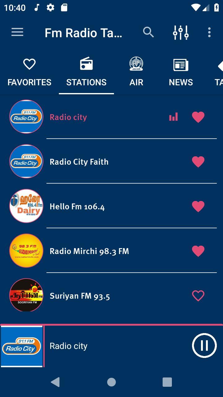 Fm Radio Tamil À®¤à®® À®´ À®µ À®© À®² For Android Apk Download