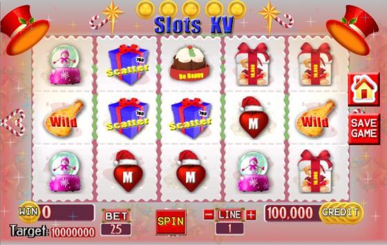 Slots KV Christmas poster