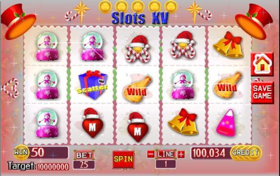 Slots KV Christmas screenshot 11