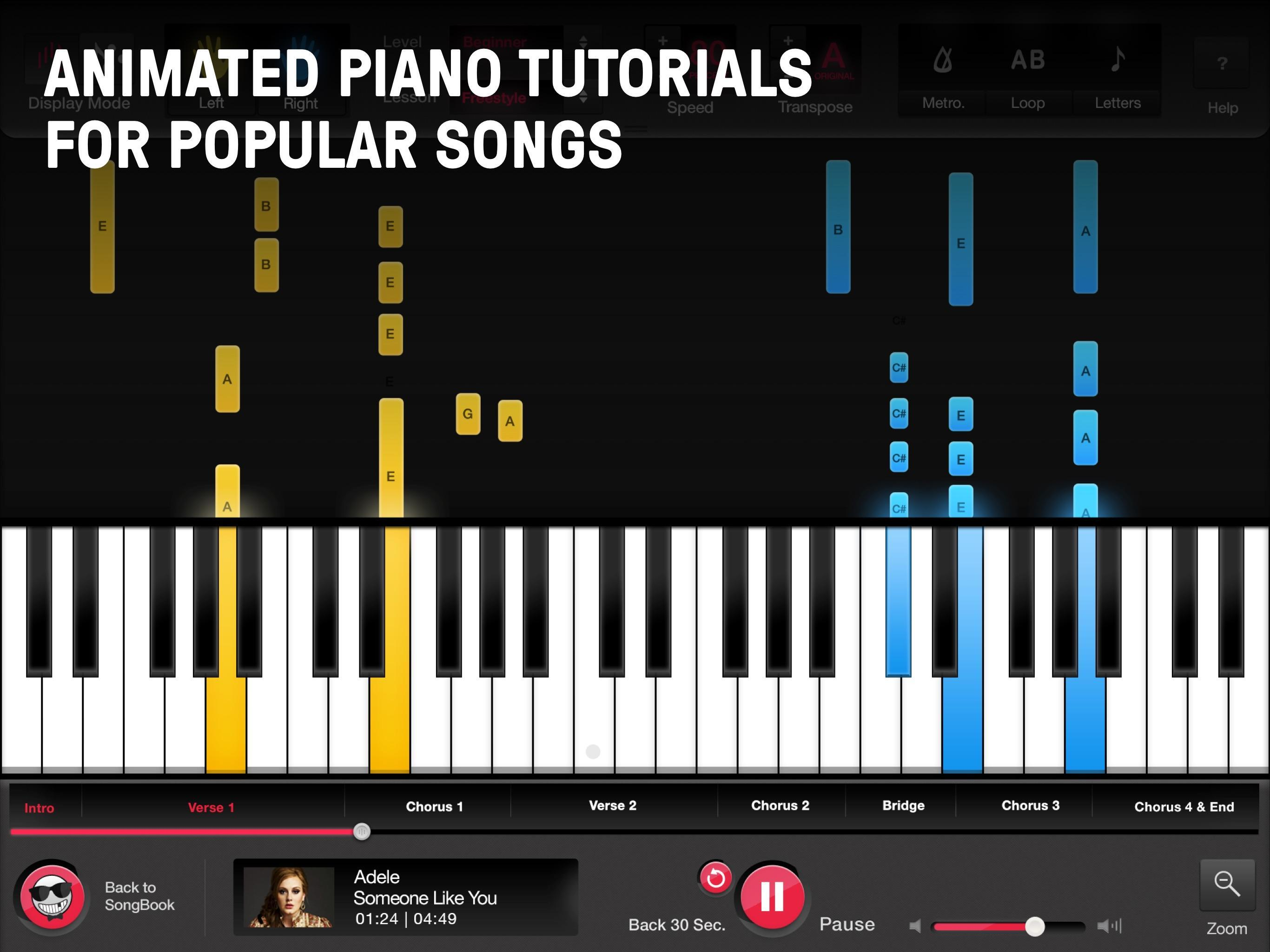 Online Pianist - Piano Tutorial with Songs for Android - APK