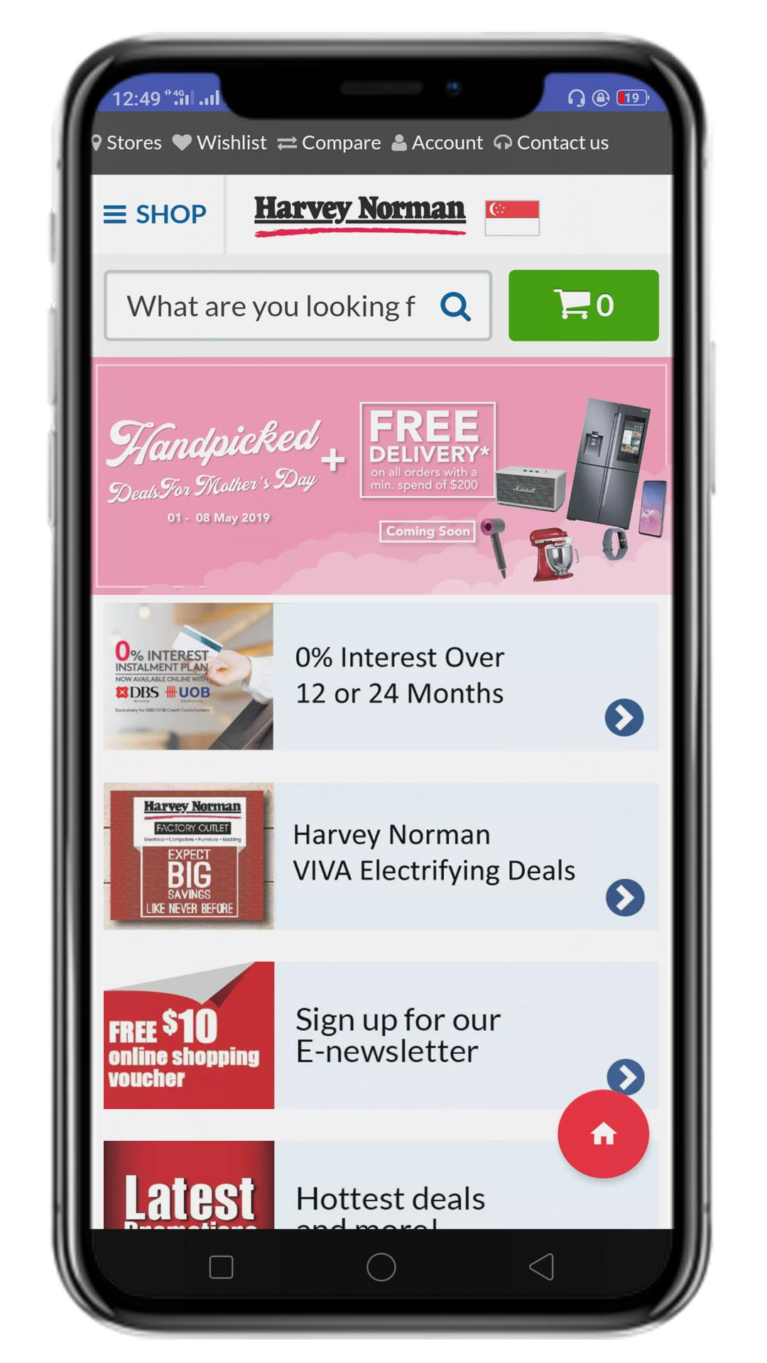 Online Shopping Singapore - Singapore Shopping for Android