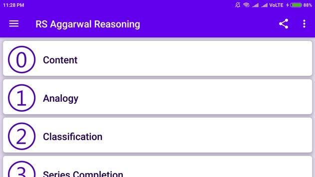 RS Aggarwal - Verbal & Non Verbal Reasoning 截图 3