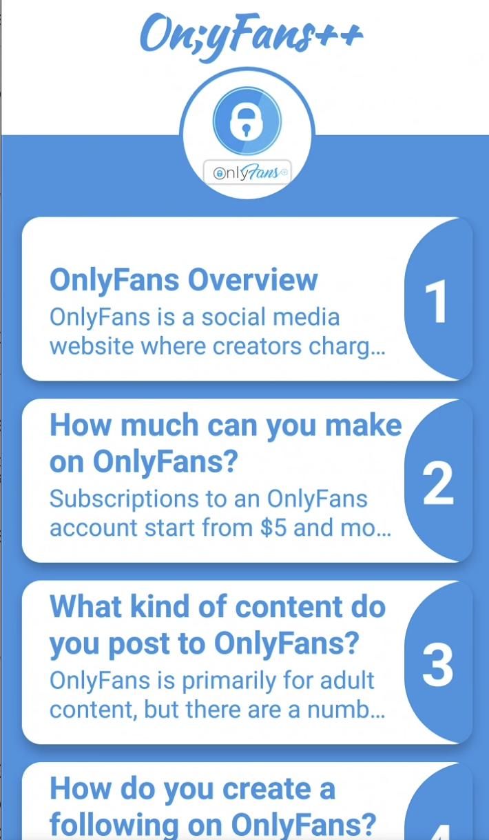Onlyfans Unlimited Videos Real Fans Helper For Android Apk Download
