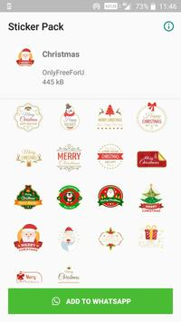 Christmas Stickers screenshot 1