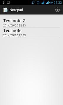 Notepad bài đăng