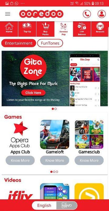 My Ooredoo For Android Apk Download