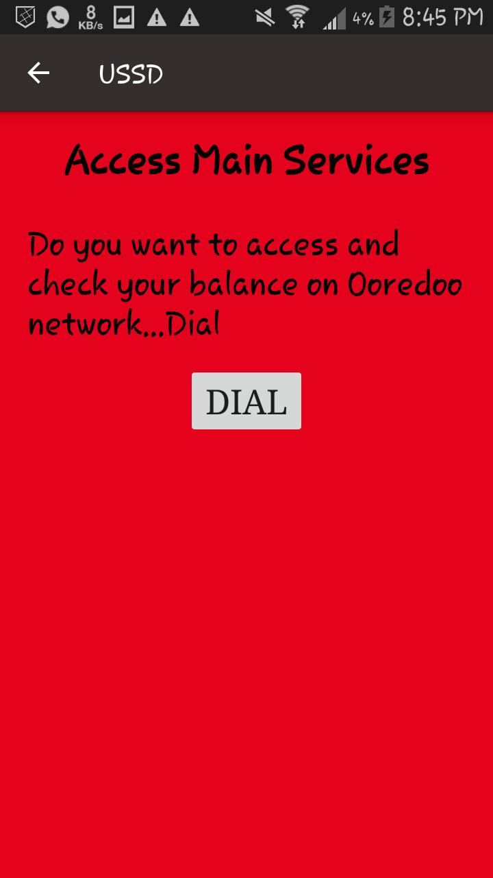 How To Check Balance In Oredoo