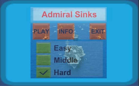 Admiral Sinks Game screenshot 6