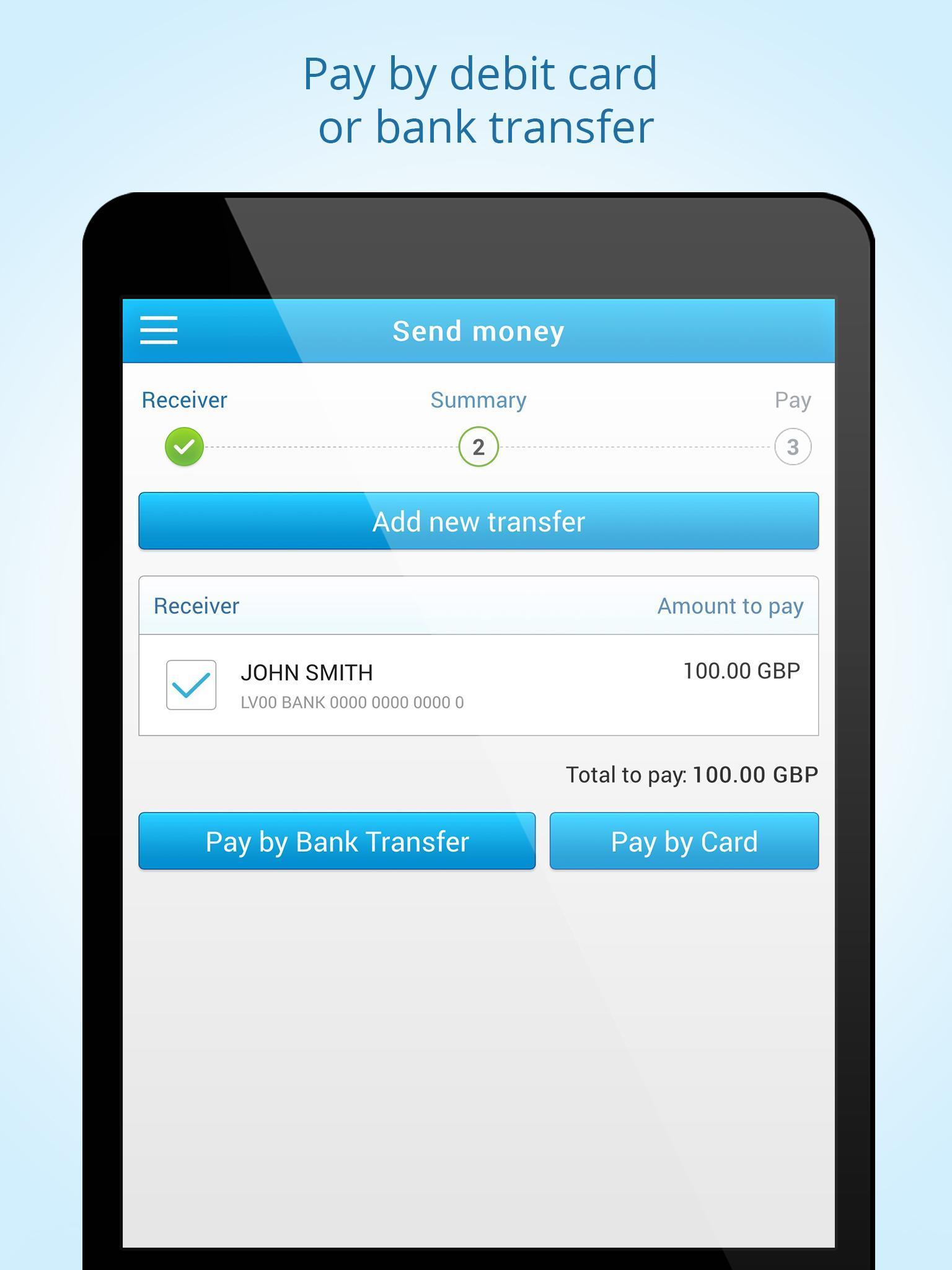 Money Transfer App Android