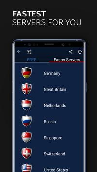 FREE VPN - Fast Unlimited Secure Unblock Proxy screenshot 22