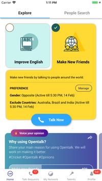 Opentalk screenshot 3
