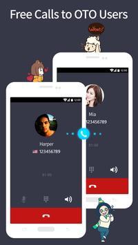 OTO международные звонки скриншот 1