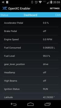 OpenXC Enabler screenshot 1