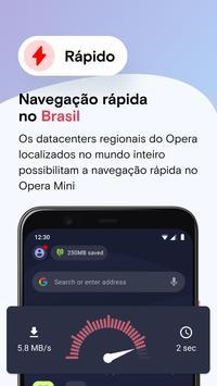 Navegador da Web Opera Mini imagem de tela 2
