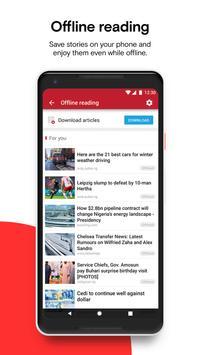 Opera News captura de pantalla 6