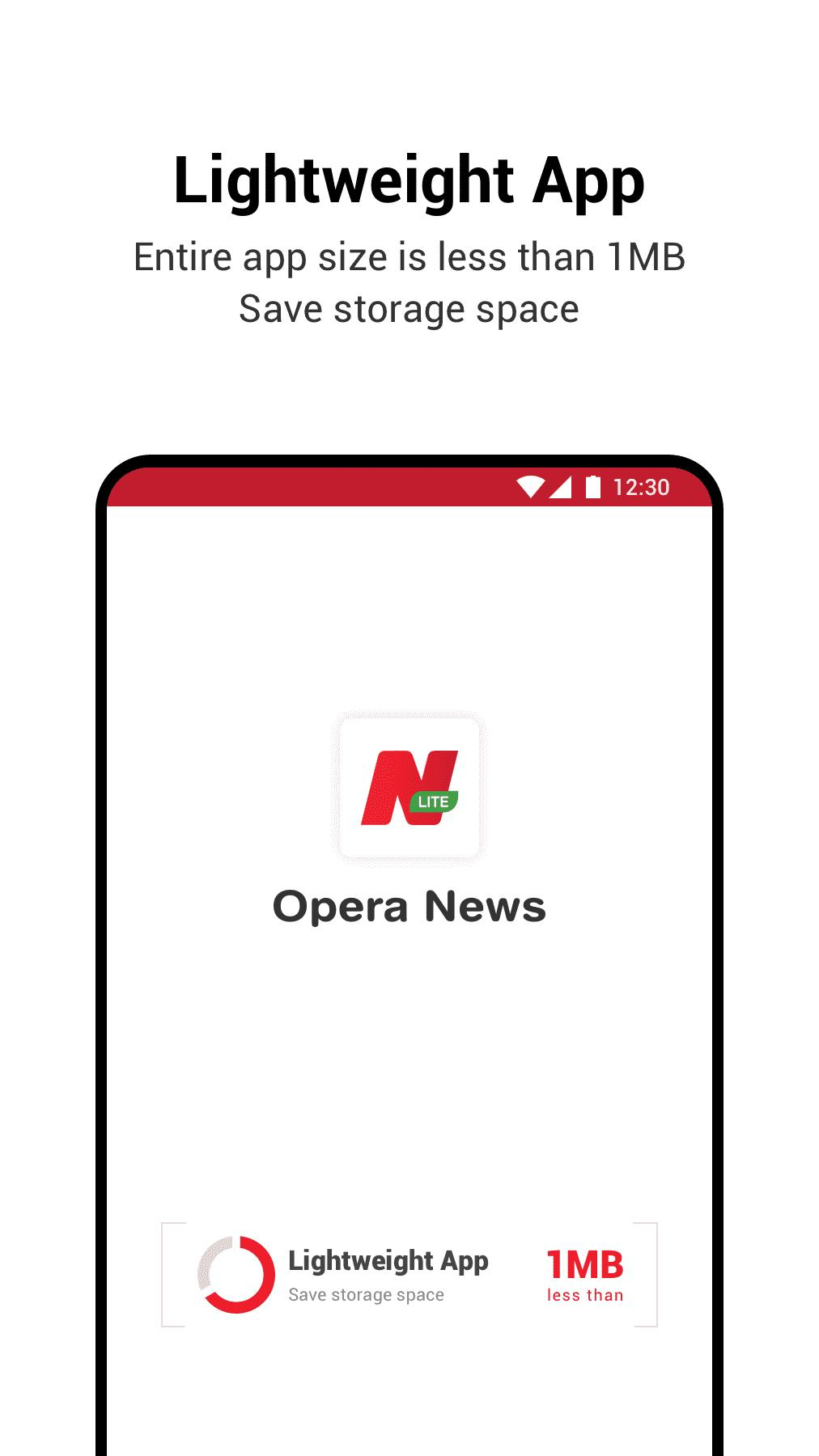 Image result for opera news lite