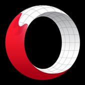 متصفح Opera التجريبي أيقونة