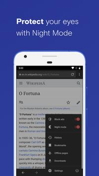Opera browser beta screenshot 5