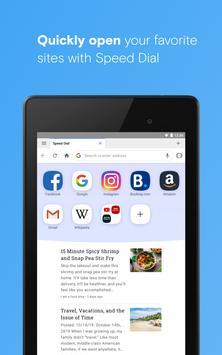 متصفح Opera مزود بـ VPN مجاني تصوير الشاشة 12