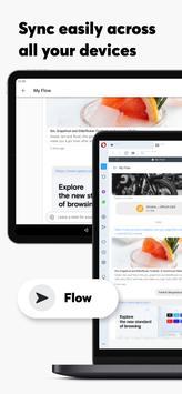 Navegador Opera con VPN gratis captura de pantalla 12