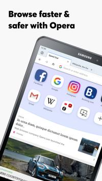 Navegador Opera con VPN gratis captura de pantalla 13