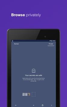 متصفح Opera مزود بـ VPN مجاني تصوير الشاشة 18
