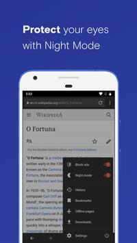 Opera स्क्रीनशॉट 2