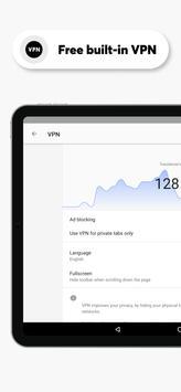 Navegador Opera con VPN gratis captura de pantalla 7