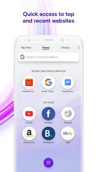 Opera Touch imagem de tela 1
