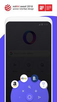 Opera Touch screenshot 1