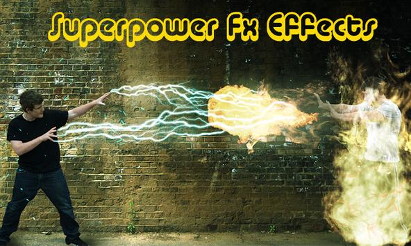 Superpower Fx effects poster