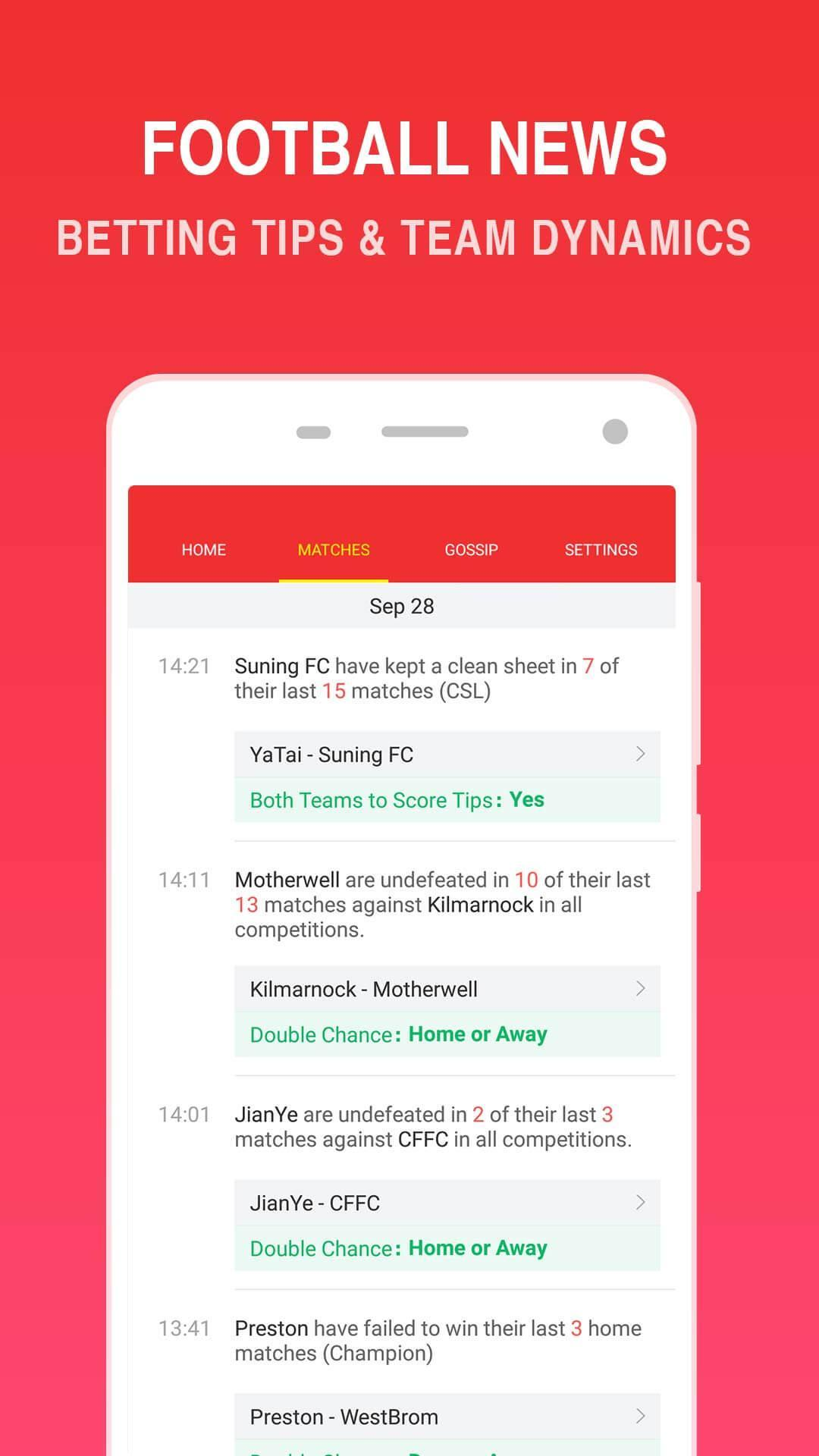 O Football - Betting Predictions & Tips for Android - APK