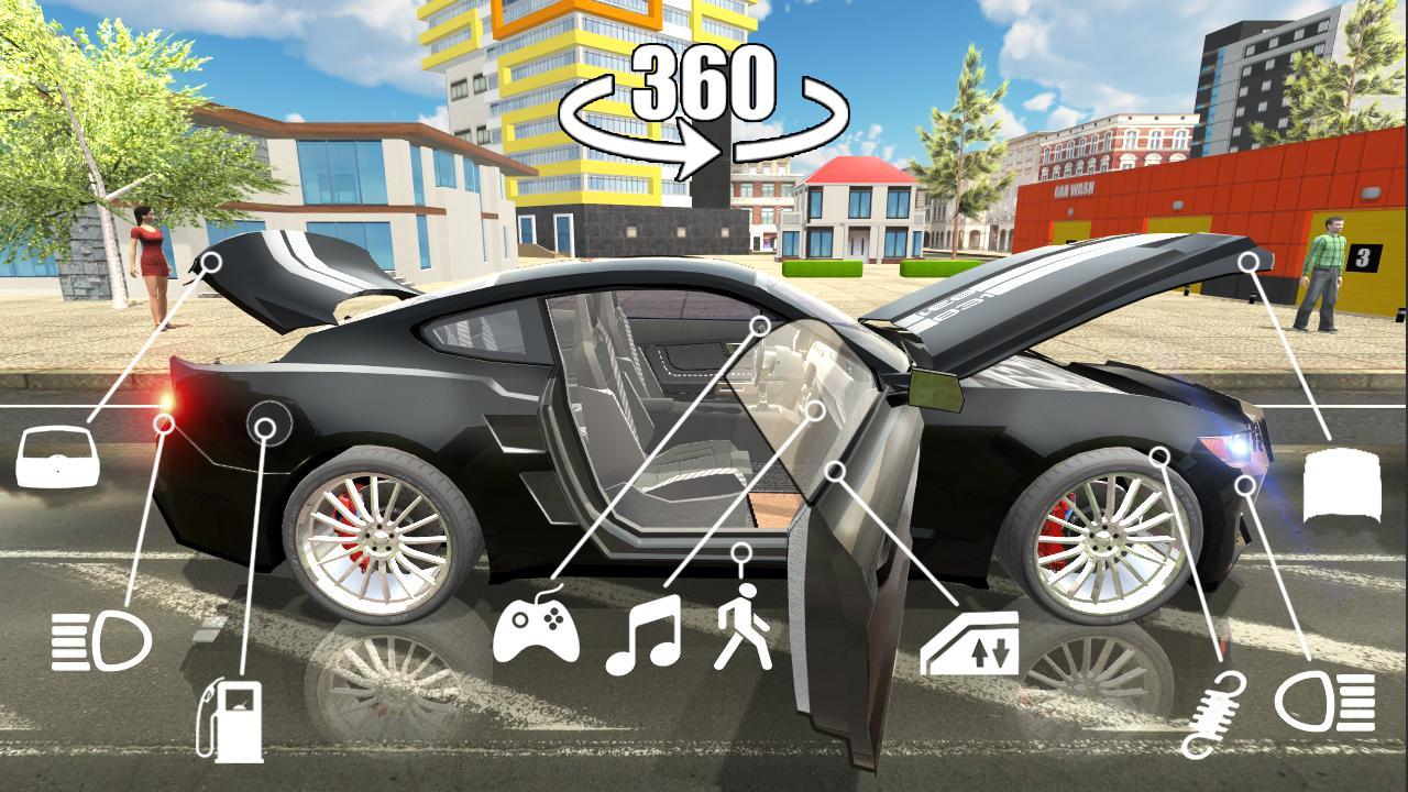 Download semua permainan Car Simulator 2