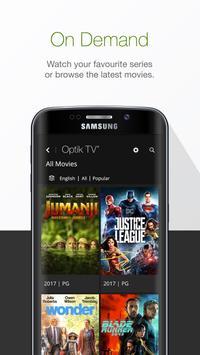 Optik TV® screenshot 2