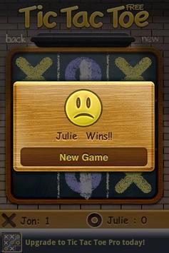 Tic Tac Toe Free screenshot 2