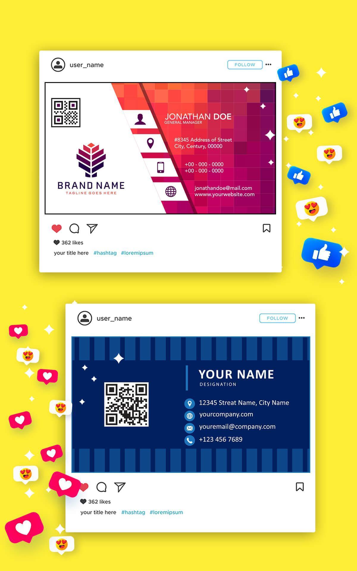 digital business card maker for android  apk download