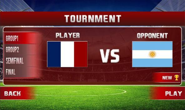 Real World Soccer League: Football WorldCup 2020 screenshot 11