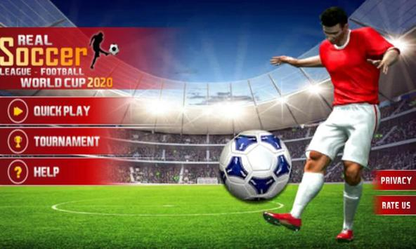 Real World Soccer League: Football WorldCup 2020 screenshot 3