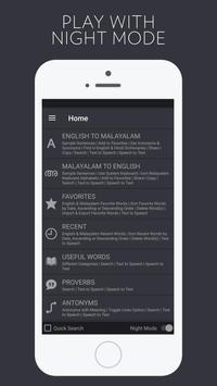 English Malayalam Dictionary - free and bilingual screenshot 4