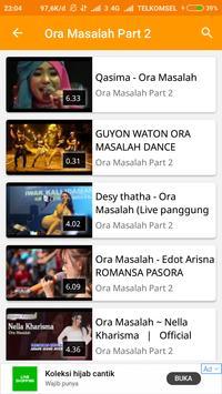 Video Musik Ora Masalah screenshot 3