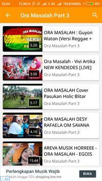 Video Musik Ora Masalah screenshot 4