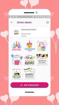 Anniversary Stickers screenshot 5