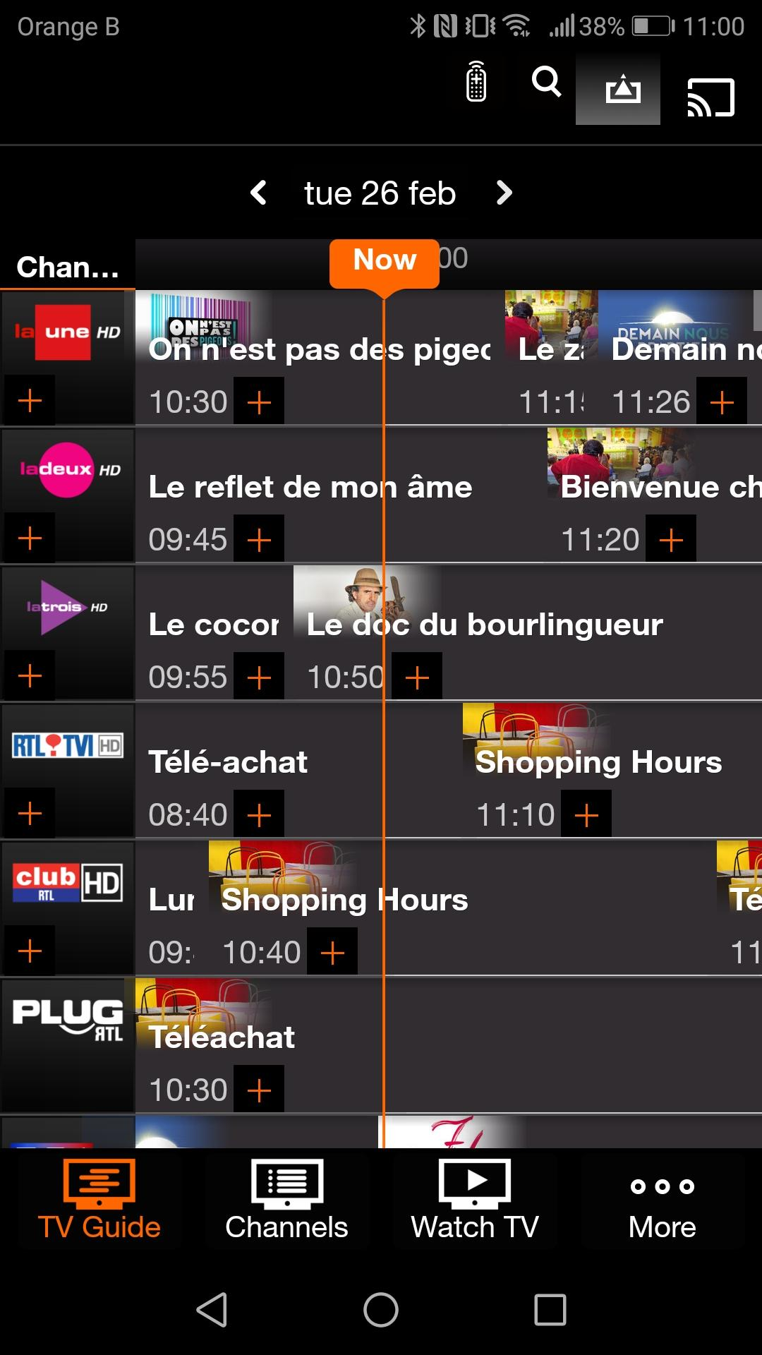 Orange TV BE for Android - APK Download