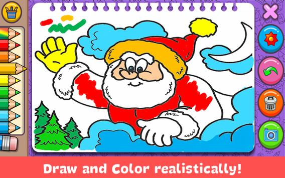 Christmas Coloring Book poster