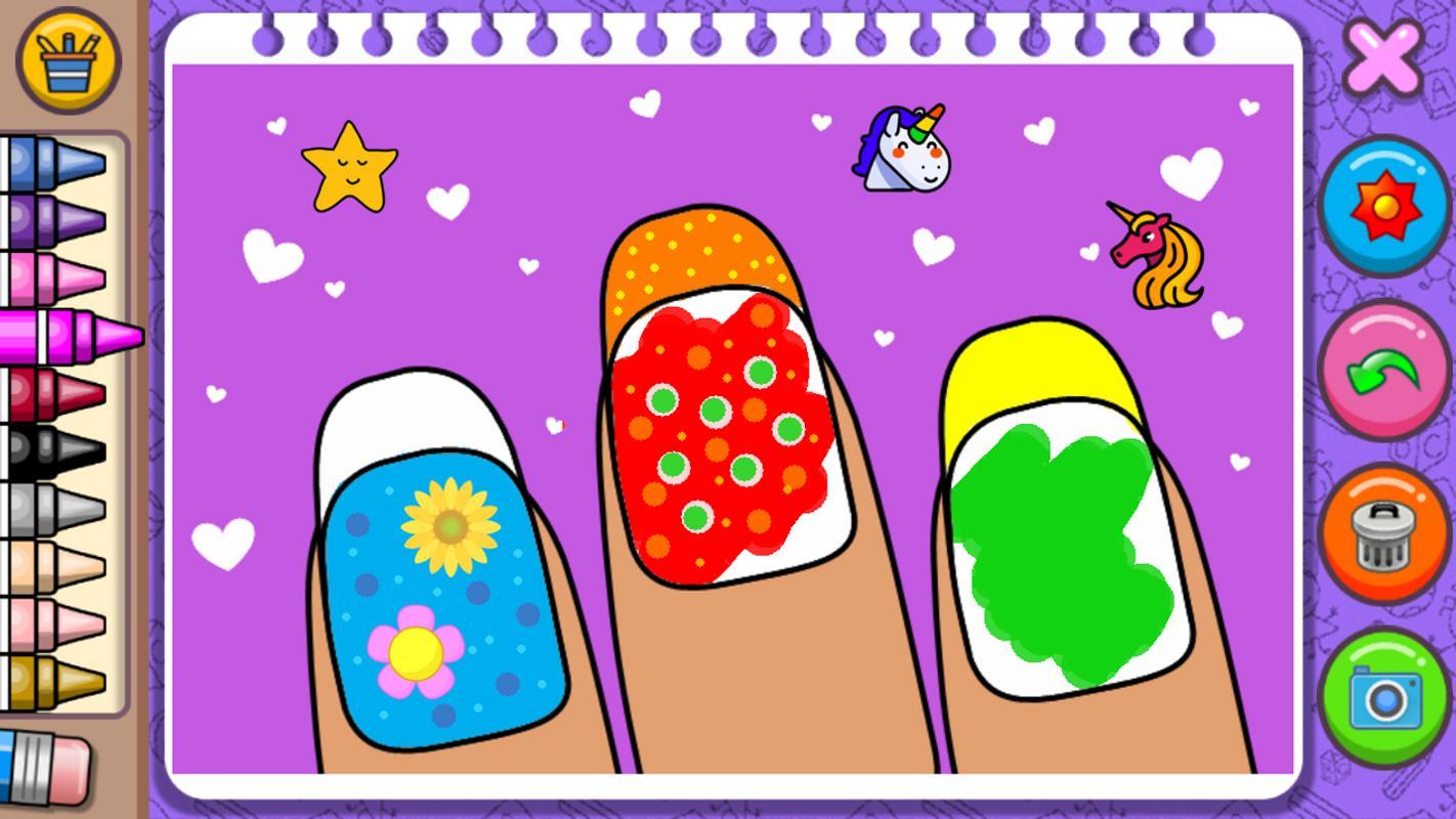 Android Için Prensesler Boyama Kitabı Ve Oyunları Apkyı Indir