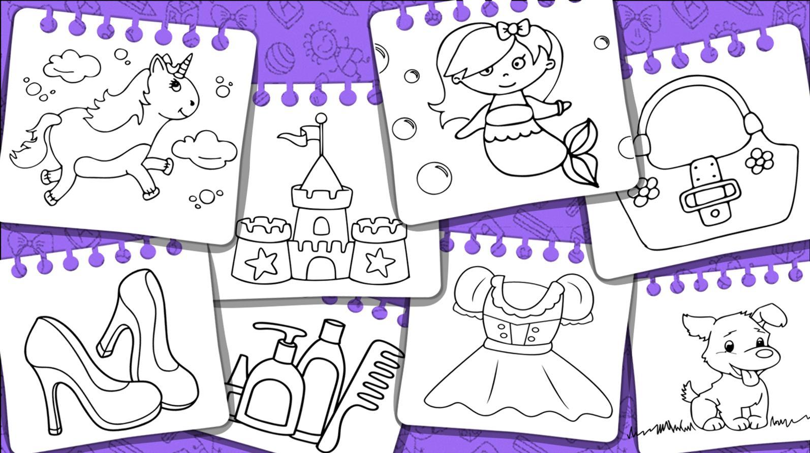 Android Icin Prensesler Boyama Kitabi Ve Oyunlari Apk Yi Indir