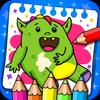 ikon Buku mewarnai dan permainan untuk anak-anak